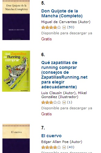 ranking ebooks gratuitos mas descargados kindle