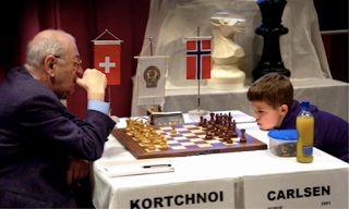 Korchnoi vs Carlsen